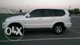 Prado 2009 VX 6 cylinder Oman car well maintained in mint condition