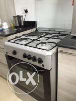 gas stove with oven