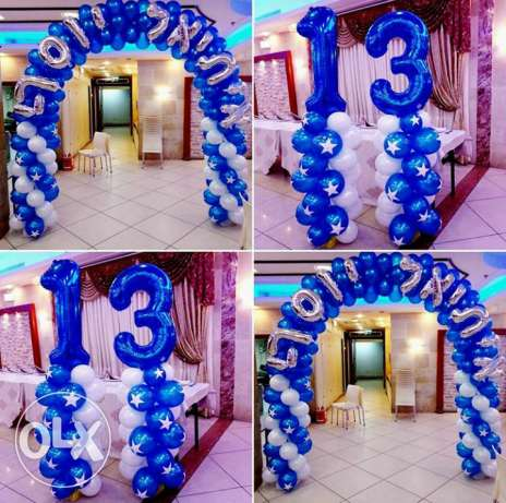 hi sir i wand balloon shop work i do all party if you want opan shop o مسقط -  3