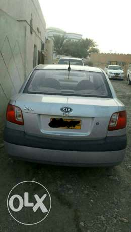 Kia rio mode 2009 automatic price 1400 الرستاق -  1