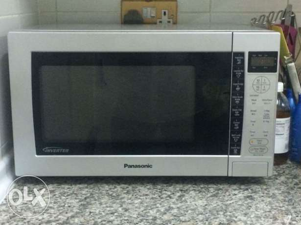 Microwave oven Panasonic imed sale neat clean condition NEGOTIABLE