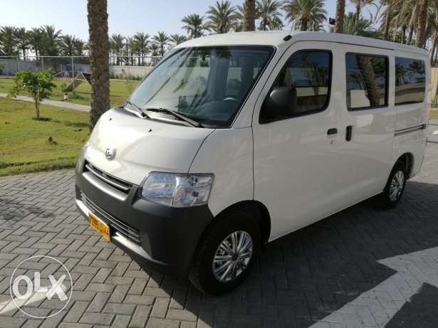 New car Daihatsu GranMax 2016 with airbags and ABS.