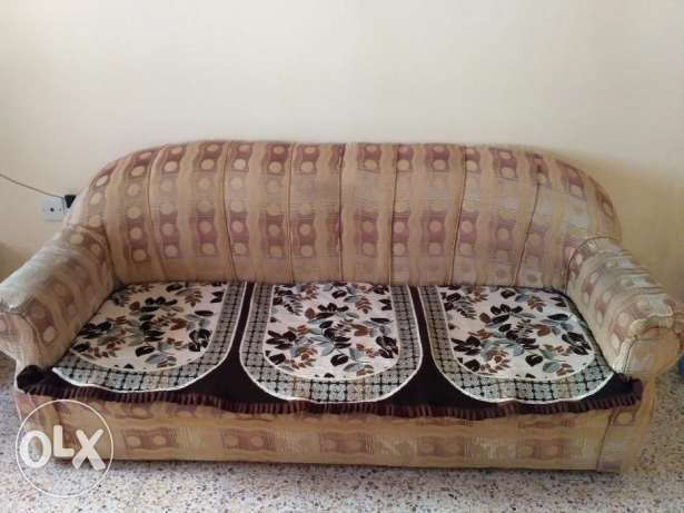 3+1+1 Sofa for sell in good condition