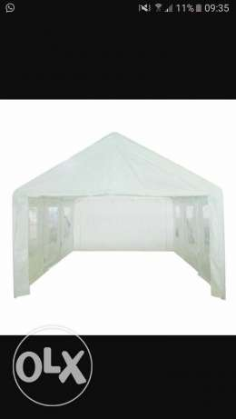 Large white new Marquee
