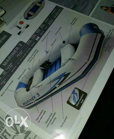 Rubber boat 4_5 person السيب -  5