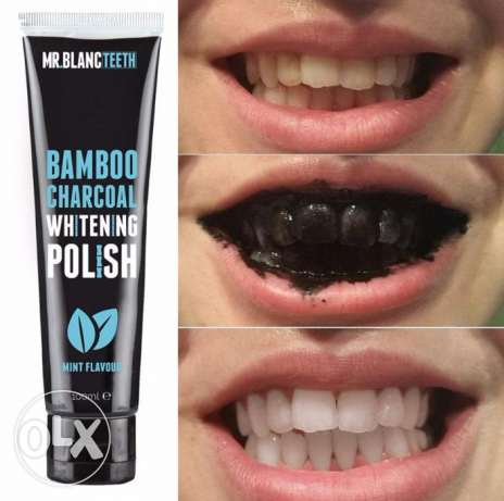 Mr Blanc Charcoal White Toothpaste Polish 100 ml