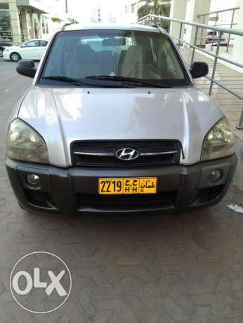 Hyundai Tucson with 1 year registration and fancy number for sale