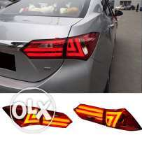 LED back-lights for Corolla(2014,2015,2016)