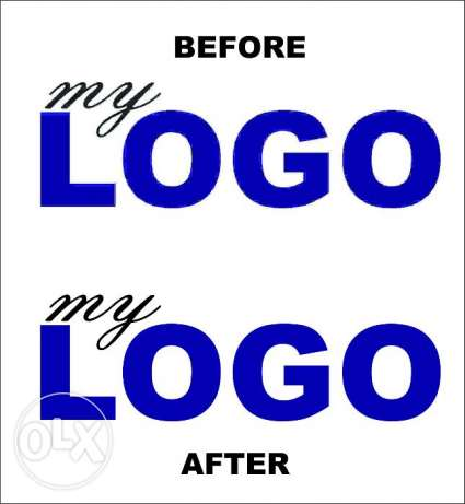 Changing Pixelated Logo into High Res Vector Image
