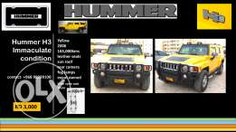 Hummer H3-Immaculate condition