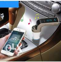 Bluetooth car charger free hand call