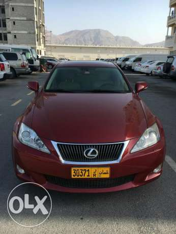 Lexus IS 300 spl(Model 2010) only 129k kms! Purchased from saud bahwan