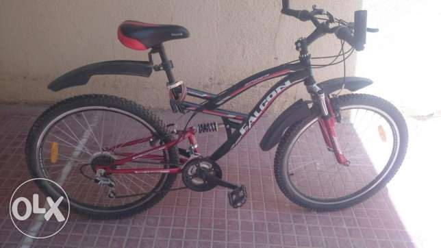 Almost new sports bicycle for sale