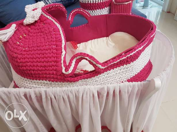 Baby cot and accessories