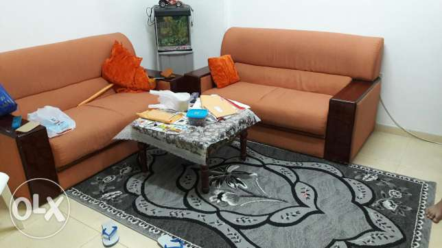 Sofa and tea table
