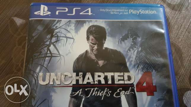 Ps4 Uncharted 4 A thief's end game