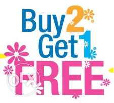 Wide range of Tablets with buy two get one offer