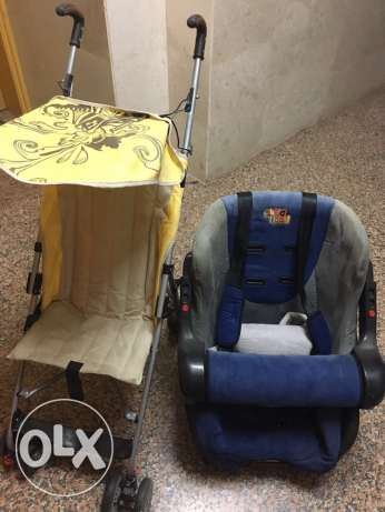Baby Car Seat and Baby Stroller excellent condition