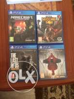 4 Amazing games for PS4