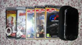 PSP with case
