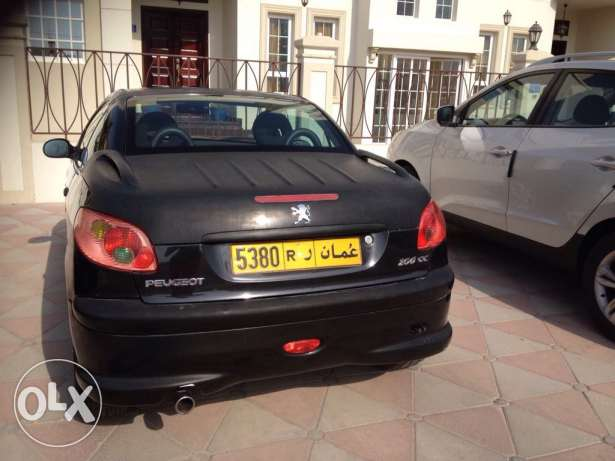 Peugeot model 206CC covertable for sale , year 2007 السيب -  2