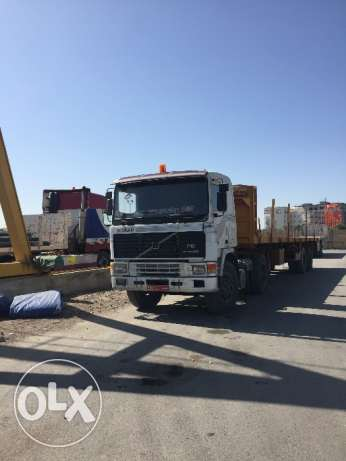 6 unit flatbed trailers for sale مسقط -  1