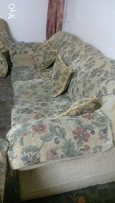 Used seven seater sofa for sale .price 30 rials only