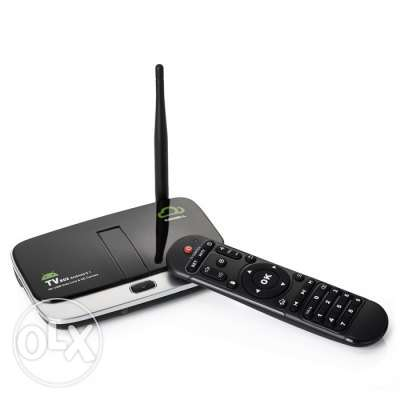 Android tv box for limited stock clearance price only 20 omr