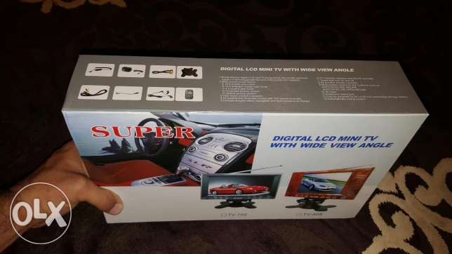 Digital LCD Mini TV With Wide View Angle