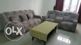 3+1+1 sofa set with cushions