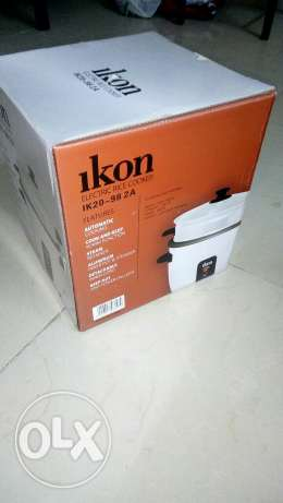Ikon electrical rice cooker imported from usa السيب -  2