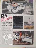 RS Sailing Dingy for Sale