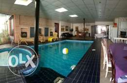 Bungalow with indoor Private Swimming Pool 4 BHK+ Garden & Parking