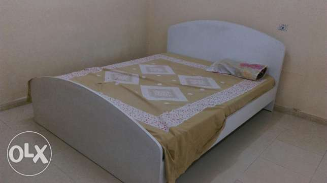 Double bed with Medical mattress