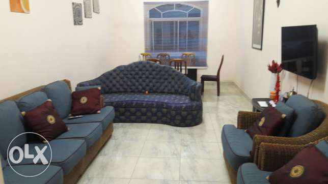 Deluxe two bedroom flat in Al Atheiba. Rent RO 375.