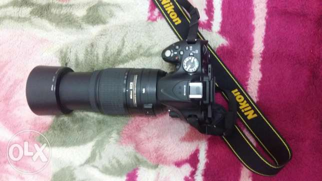 NIKON 5200 and lenses FOR SALE