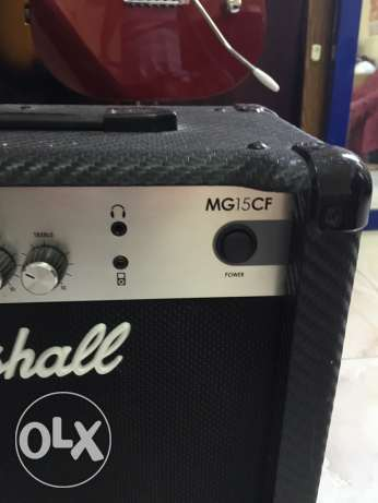marshall amps MG15CF