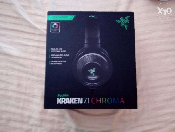 Razer R Λ Z Ξ R - Kraken 7.1 Chroma UGRENT SALE
