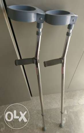 Pair of elbow crutches for sale