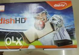 Dish tv reciver with set