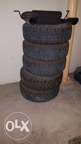 jeep Rubicon tires and rims