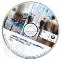 BMW DVD Navigation Map 2013 Middle East