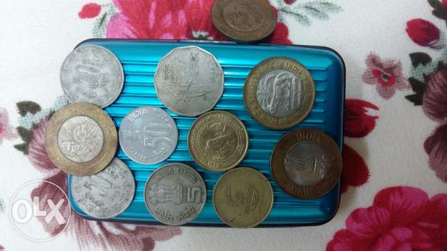 Indian 22 notes and 12 coins مسقط -  3