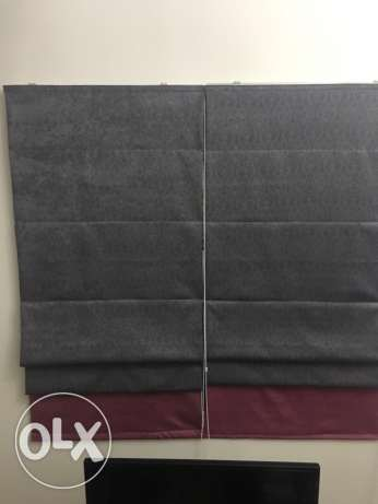 2 nice curtains for sale مسقط -  1