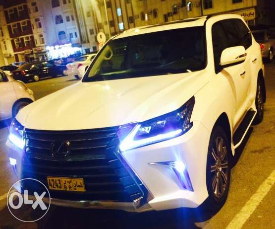 lexus Lx 570 wakala bhawan oman for sale only 5 months use مسقط -  1