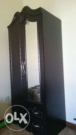 Wooden cupboard fore sale, only 8 months old
