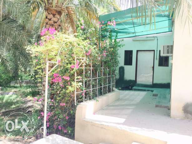 Fully furnished Farm house 2B/R at boshar only on 350riyal
