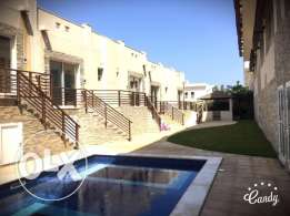 European type 4BHK+1 Type Villa For Rent in Quram PDO Height WIth Pool