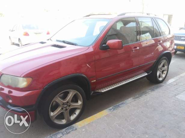 BMW X5 4.6is full OPTIONS agency Oman 2003 free ACCIDENT oreginal PAI مطرح -  1