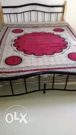 Queen Sizebed with Medical Mattress Excellent condition on Urgent Sale